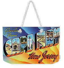 Cape May Greetings - Version 1 Weekender Tote Bag