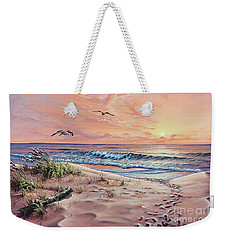 Captured In The Morning Light Weekender Tote Bag
