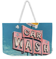 Car Wash Weekender Tote Bag