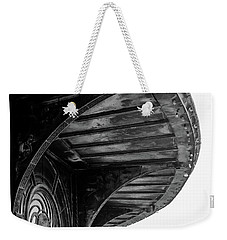 Weekender Tote Bag featuring the photograph Carousel House Detail by Steve Stanger