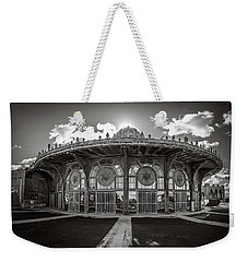 Weekender Tote Bag featuring the photograph Carousel House by Steve Stanger
