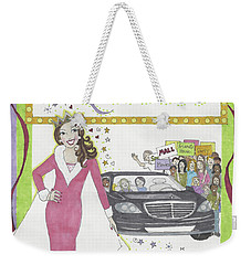 Carpool Queen Weekender Tote Bag
