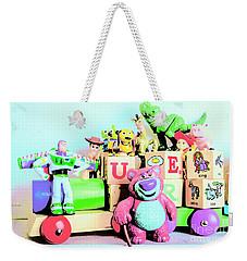Carriage Of Cartoon Characters Weekender Tote Bag