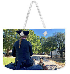 Carriage Ride Weekender Tote Bag