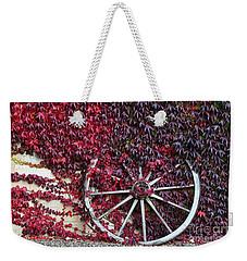 Cart Wheel Weekender Tote Bag