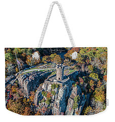 Weekender Tote Bag featuring the photograph Castle Craig by Michael Hughes