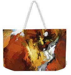 Cat In The Kitchen Weekender Tote Bag
