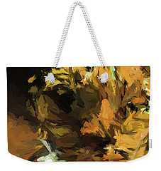 Cat Up Close Weekender Tote Bag