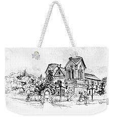 Cathedral Basilica Of St. Francis Of Assisi - Santa Fe, New Mexico Weekender Tote Bag