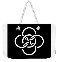 Celtic Five Fold Symbol 2 Weekender Tote Bag