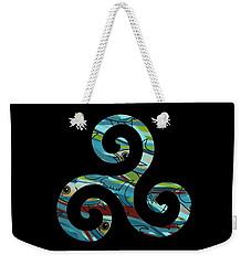 Celtic Spiral 2 Weekender Tote Bag