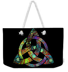 Celtic Triquetra Or Trinity Knot Symbol 3 Weekender Tote Bag