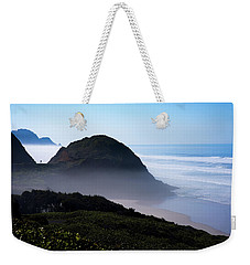 Weekender Tote Bag featuring the photograph Central Oregon Coast 101718 by Rospotte Photography