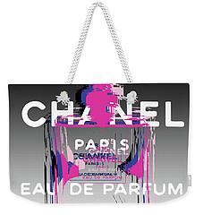 Chanel No 5 - Pop Art Weekender Tote Bag