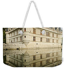 Weekender Tote Bag featuring the photograph Chateau Azay-le-rideau, by Stephen Taylor
