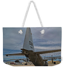 Weekender Tote Bag featuring the photograph Cheese Grater by Dan McManus