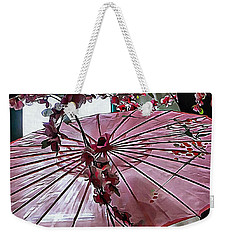 Weekender Tote Bag featuring the photograph Cherry Blossom Dreams by Dorothy Berry-Lound