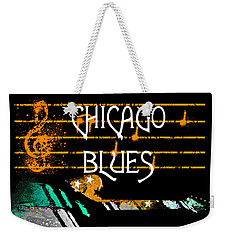 Chicago Blues Music Weekender Tote Bag