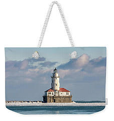 Chicago Harbour Light Weekender Tote Bag