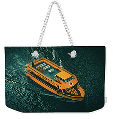 Chicago Taxi Weekender Tote Bag