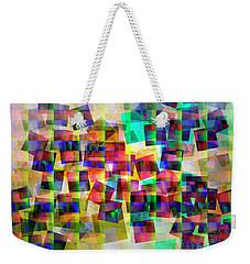 Weekender Tote Bag featuring the digital art Chicken Run by Edmund Nagele