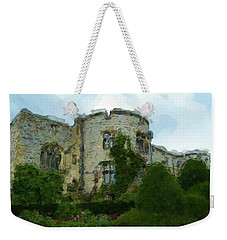Chirk Castle Painting Weekender Tote Bag