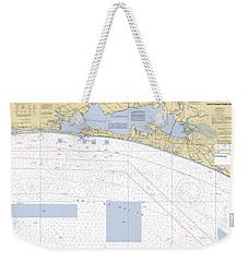 Choctawhatchee Bay Noaa Chart 11388 Weekender Tote Bag