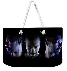 Weekender Tote Bag featuring the photograph Choice. by Eric Christopher Jackson