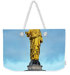 Weekender Tote Bag featuring the photograph Christ The Redeemer by Fabrizio Troiani