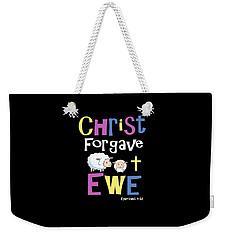 Christian Gifts For Kids Christ Forgave Ewe Weekender Tote Bag