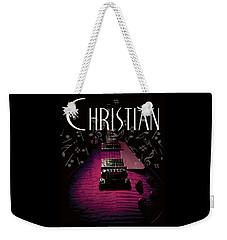Christian Music Guita Weekender Tote Bag