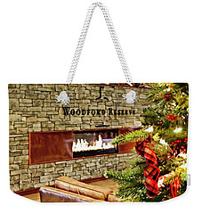 Christmas At Woodford Reserve Weekender Tote Bag