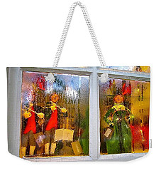Weekender Tote Bag featuring the photograph Christmas Chorale by Don Moore