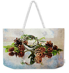 Weekender Tote Bag featuring the photograph Christmas Thoughts by Randi Grace Nilsberg