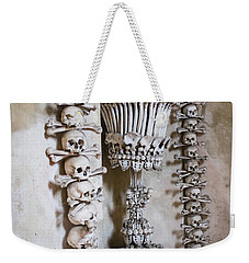 Weekender Tote Bag featuring the photograph Church Of Bones by Mark Duehmig