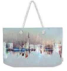 City Of Pastels Weekender Tote Bag
