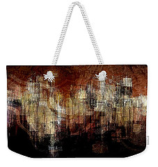 City On The Edge Weekender Tote Bag