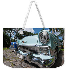 Classic Cuban Chevy Weekender Tote Bag