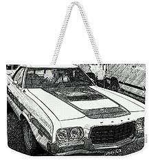 Classic Ford Sketch Weekender Tote Bag