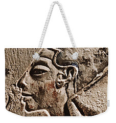 Weekender Tote Bag featuring the photograph Cleopatra by Sue Harper