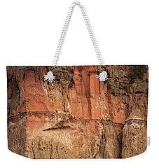 Cliff Face Weekender Tote Bag