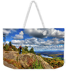 Weekender Tote Bag featuring the photograph Close To Heaven On Earth by David Patterson