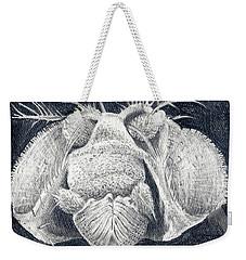 Close-up Portrait Weekender Tote Bag