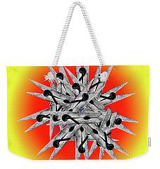 Clothespin Pop Art Warhol Style Print - #1 Weekender Tote Bag