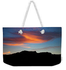 Cloud Over Mt. Boney Weekender Tote Bag