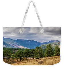 Clouds Over The Rockies Weekender Tote Bag
