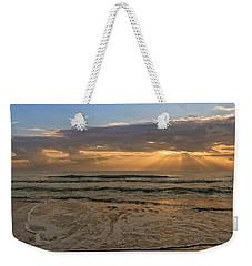Cloudy Sunrise In The Mediterranean Weekender Tote Bag