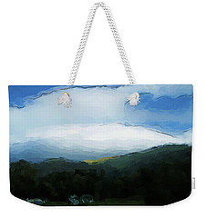 Cloudy View Painting Weekender Tote Bag