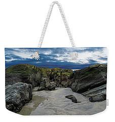 Coastline Castle Weekender Tote Bag