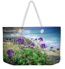 Coastline Color Weekender Tote Bag